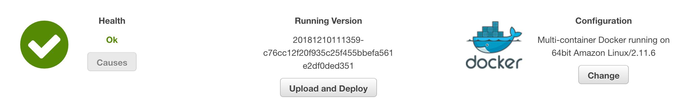 Run Tensorflow scripts from Node js server deployed on AWS